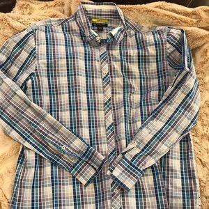INC international concepts button up shirt